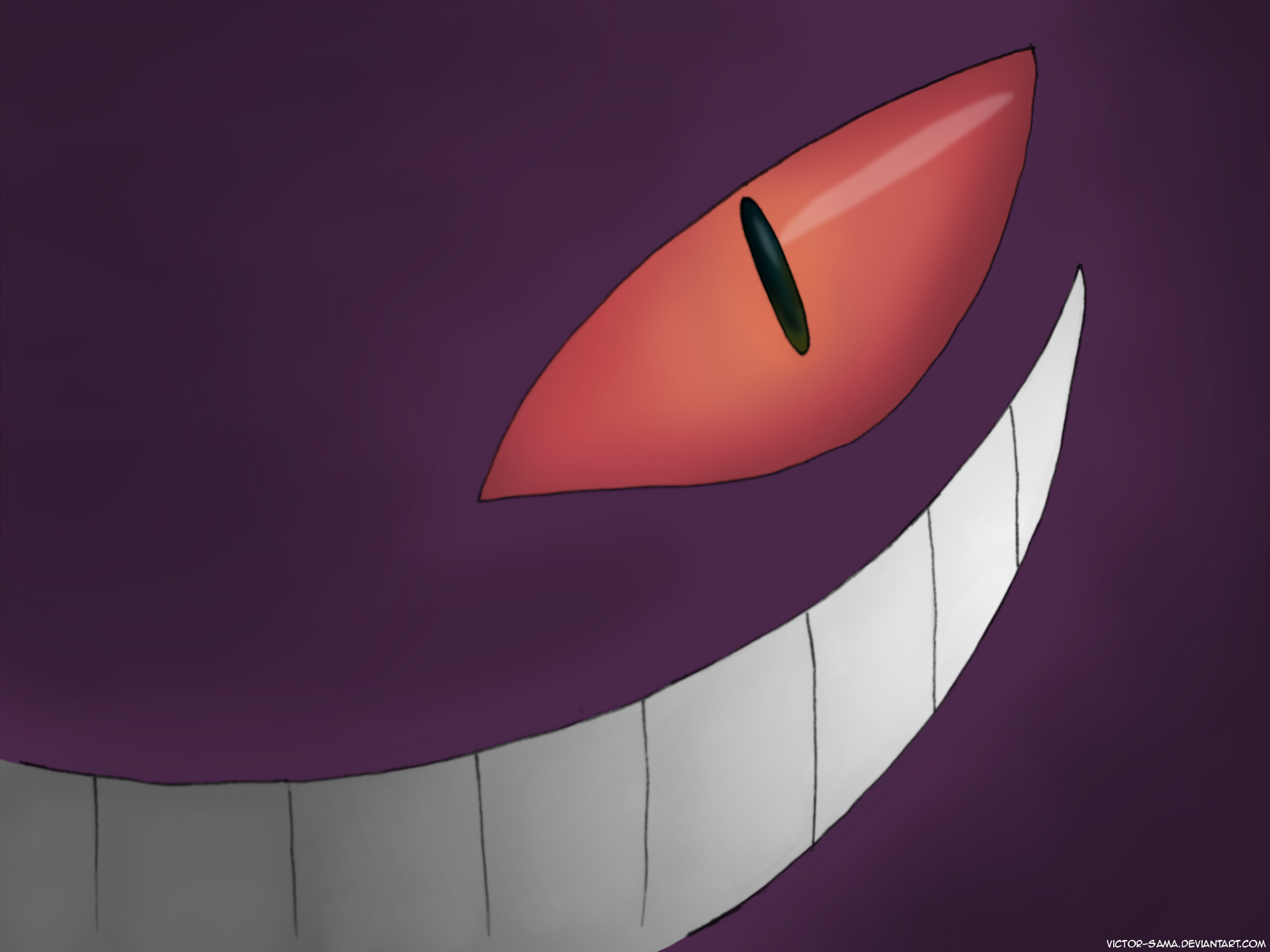Gengar Wallpaper PicsWallpapercom 2000x1500