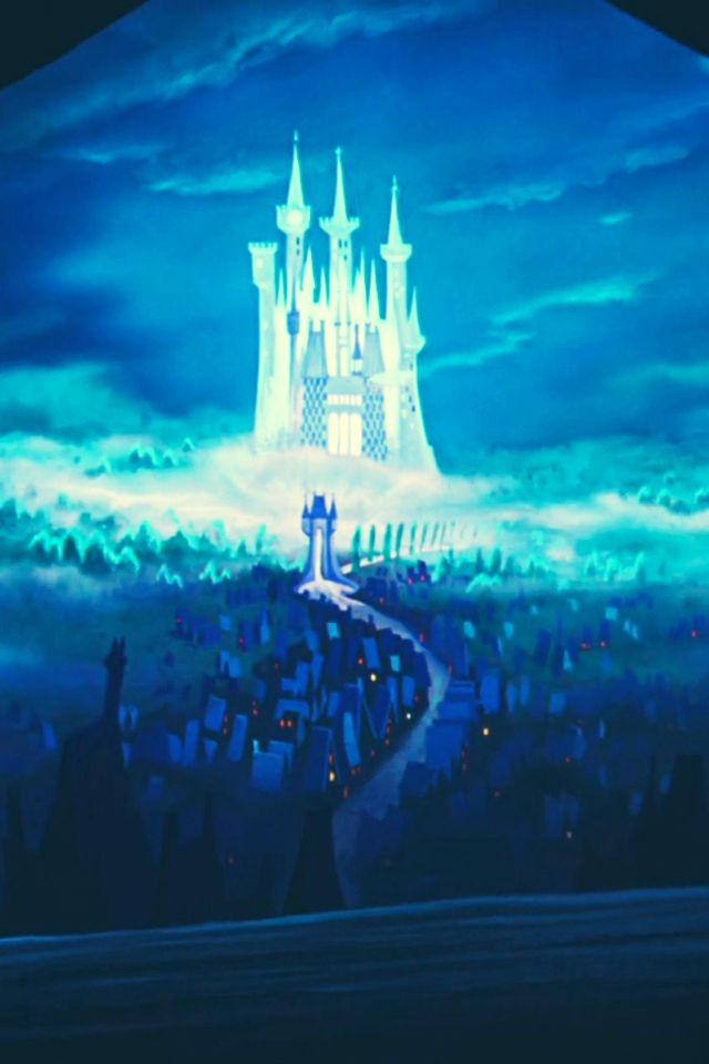 Cinderella S Castle Iphone Wallpaper More Wallpapers 640x960