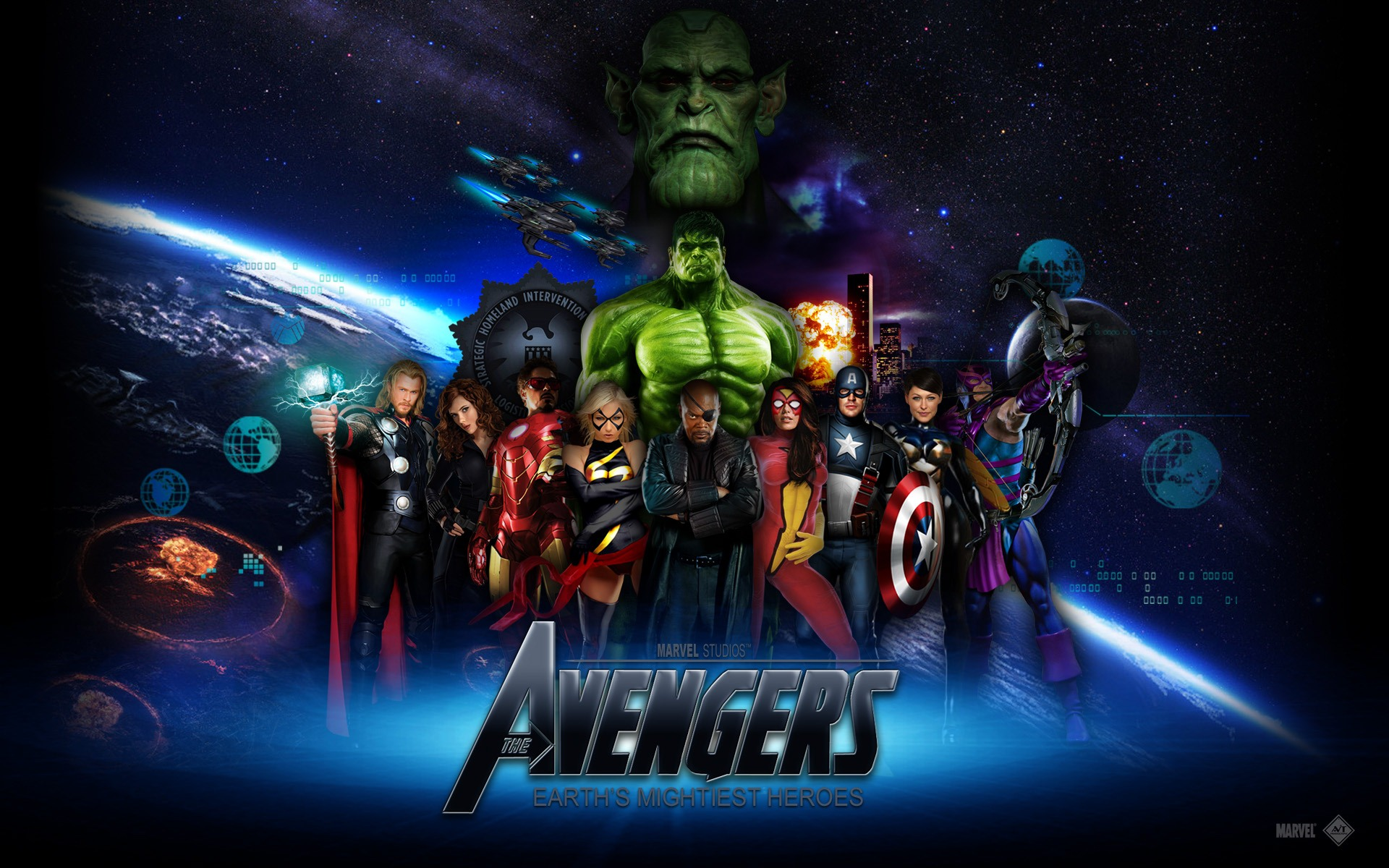 70 Avengers Wallpaper Hd On Wallpapersafari