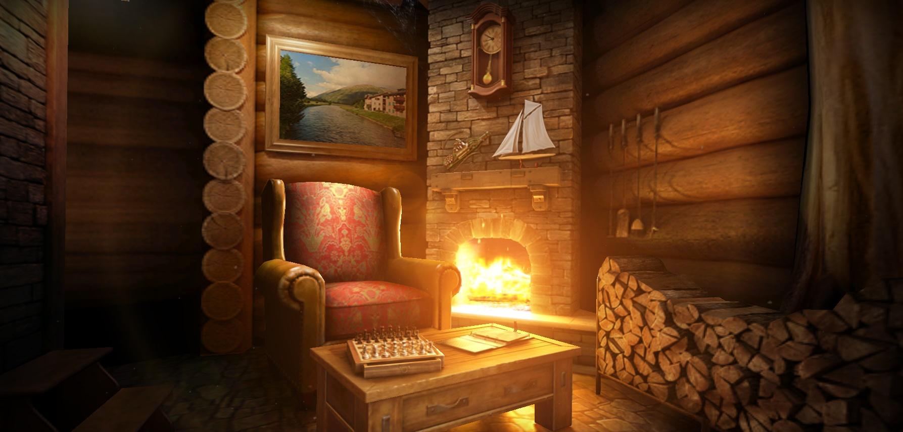 Log Cabin Look Wallpaper Wallpapersafari