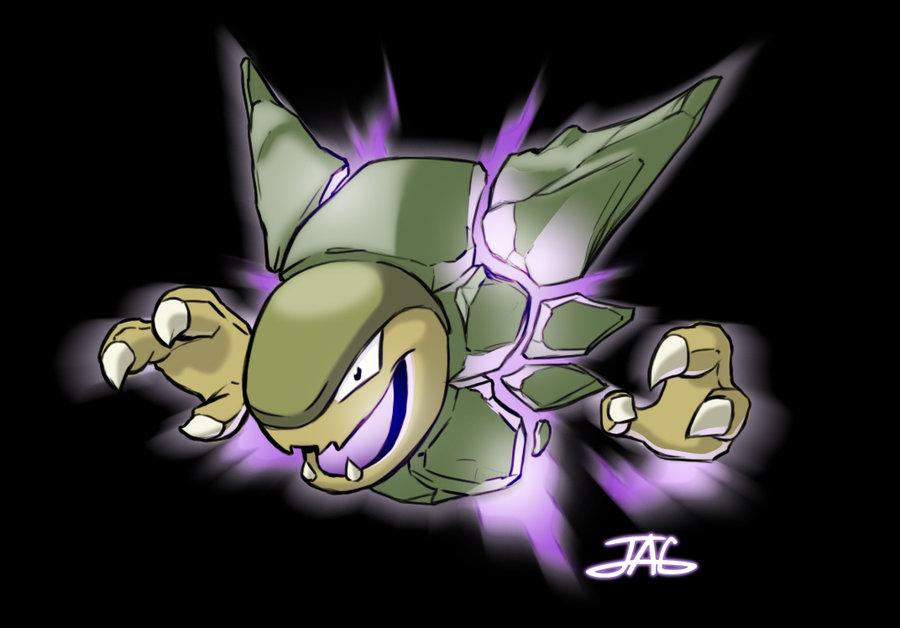 Pokemon Fusion Golem Haunter GOLTER by JAG Comics on 900x628