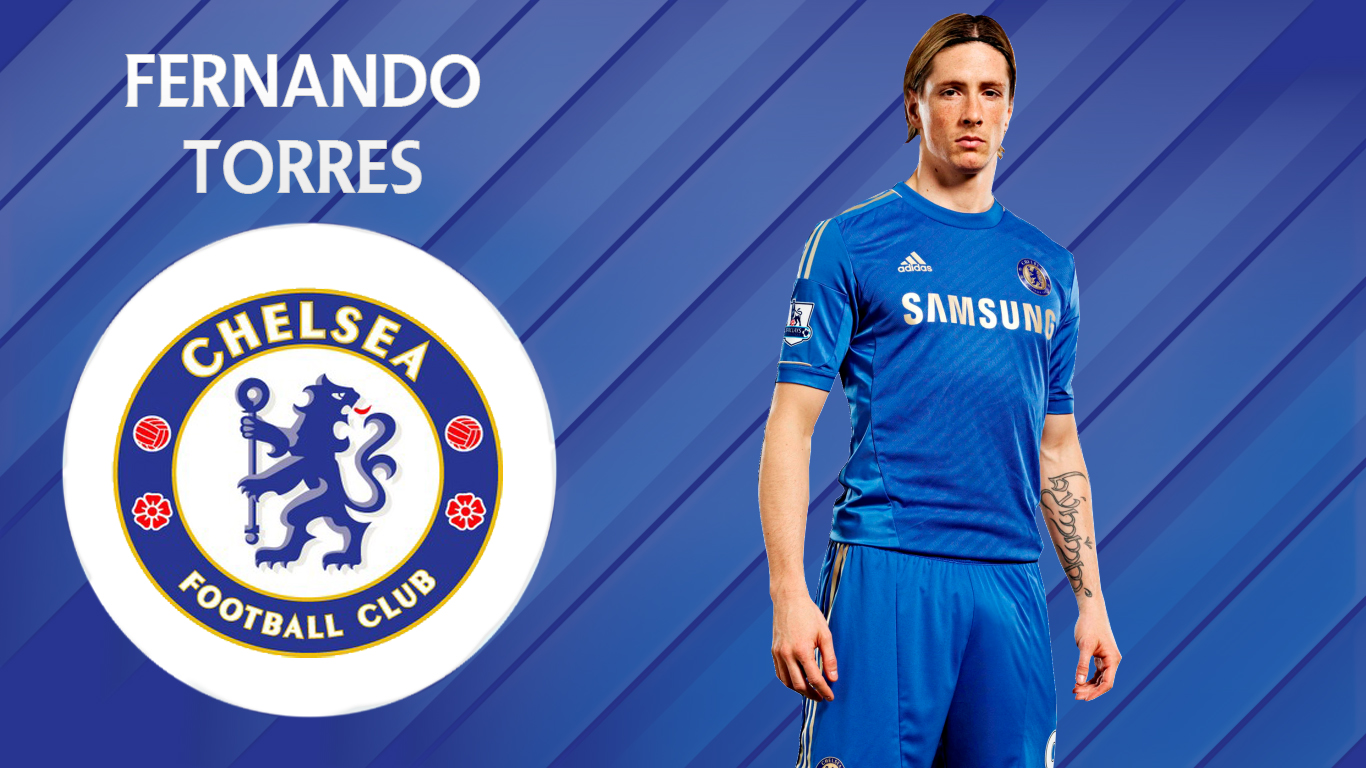 wallpapers hd for mac Fernando Torres Chelsea Wallpaper HD 2013 1366x768