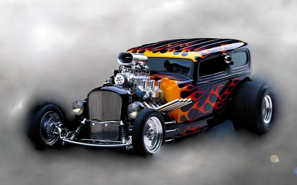 Flame hot rod wallpaper ForWallpapercom 969x606