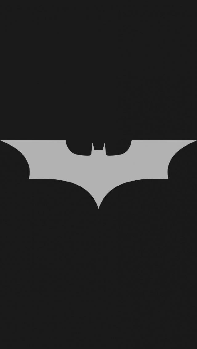 640x1136 Minimalistic Batman Logo Iphone 5 wallpaper 640x1136