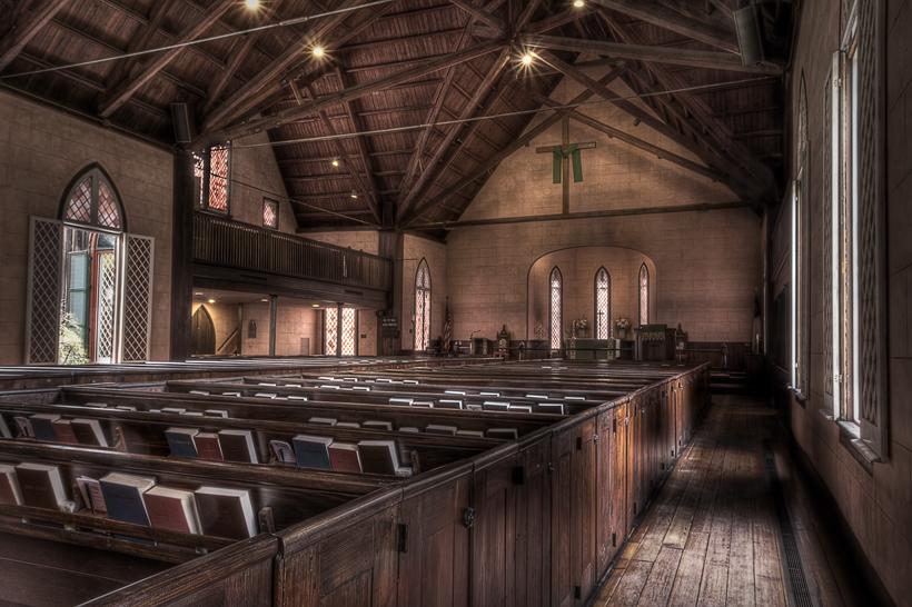 The Church of the Cross in Bluffton South Carolina 820x546