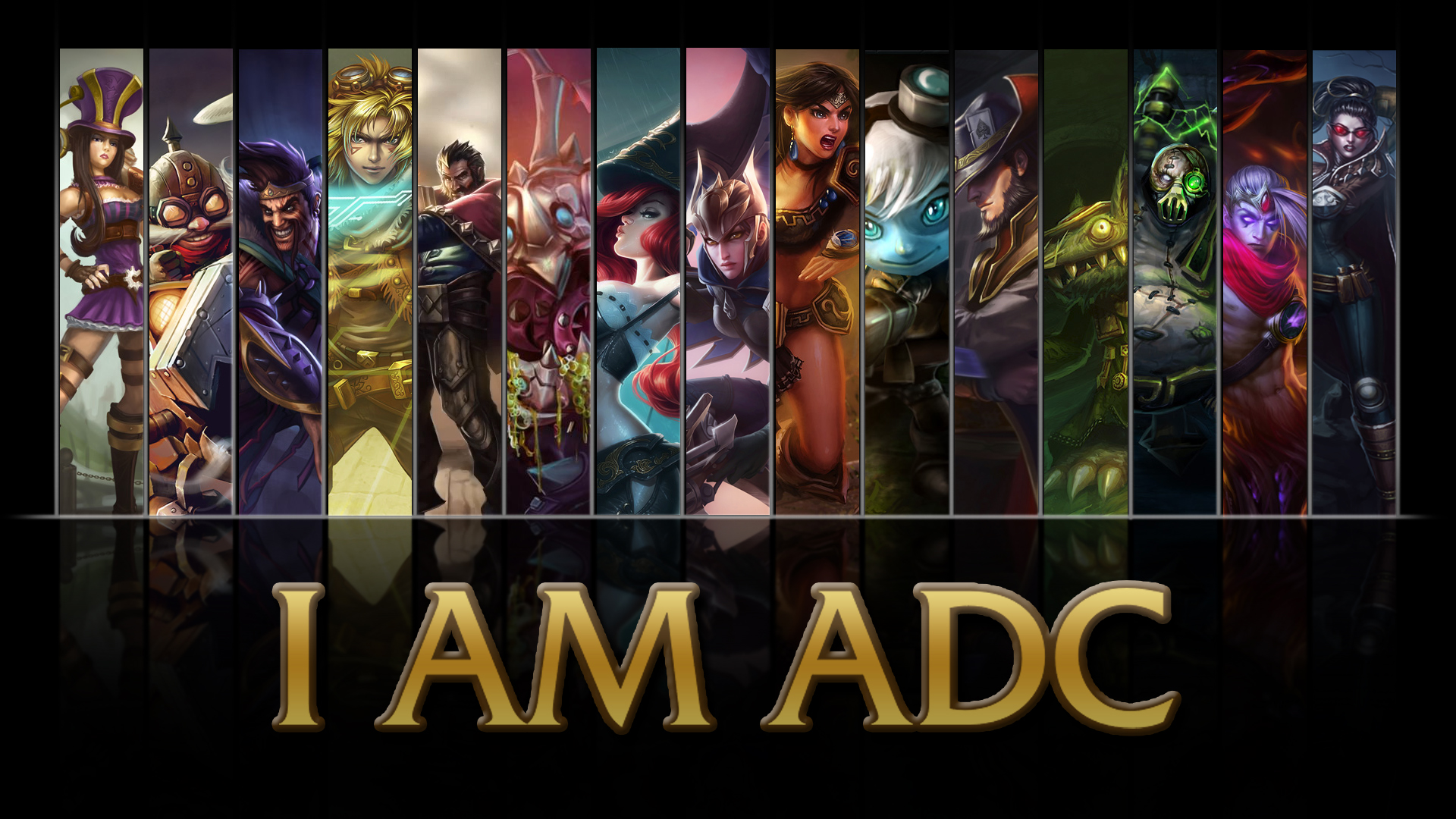47 League Of Legends Adc Wallpaper On Wallpapersafari