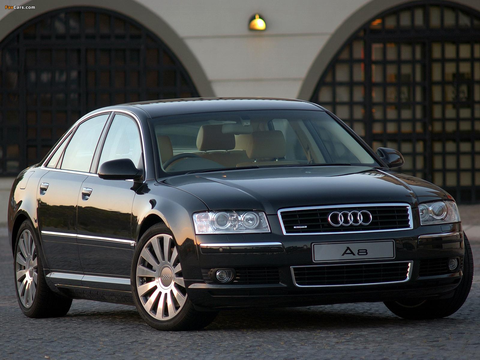 Audi A8 42 quattro ZA spec D3 200305 wallpapers 1600x1200 1600x1200