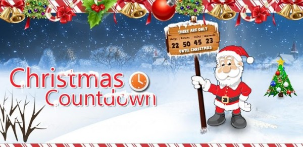 christmas countdown wallpaper 600x292 Live Wallpapers de Navidad para 600x292