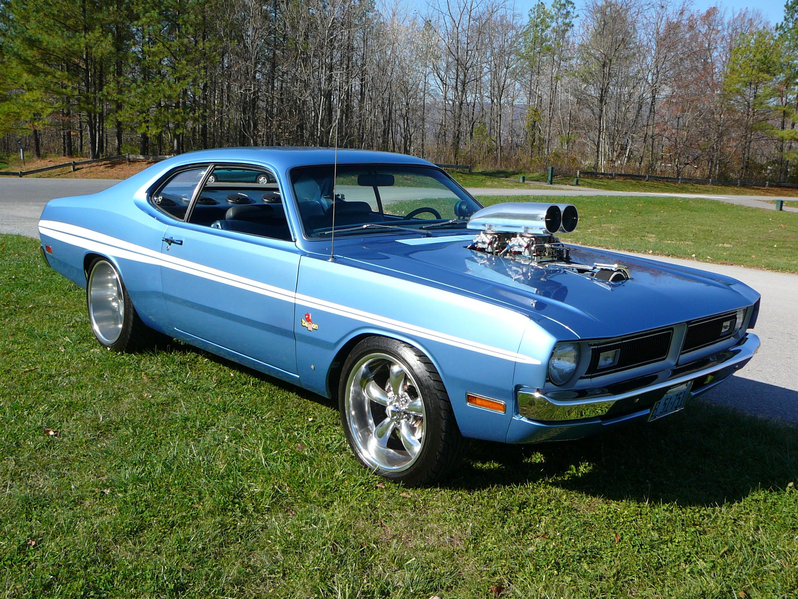 Dodge Demon muscle classic hot rod rods 340 engine j wallpaper 2560x1920