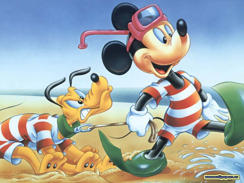 Free Disney Summer Wallpaper: [48+] Walt Disney Characters Summer Wallpaper On