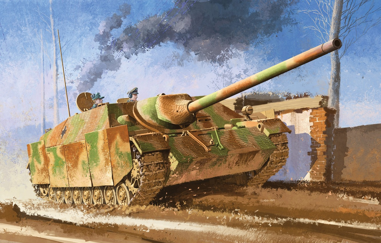 Wallpaper war tank ww2 german tank SPG jagdpanzer IV images 1332x850