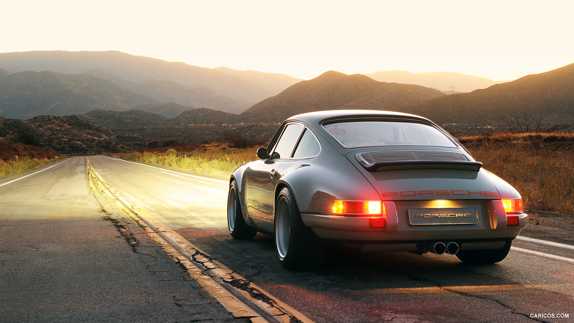 Porsche Hd Wallpapers 1080p: Singer Porsche Wallpaper
