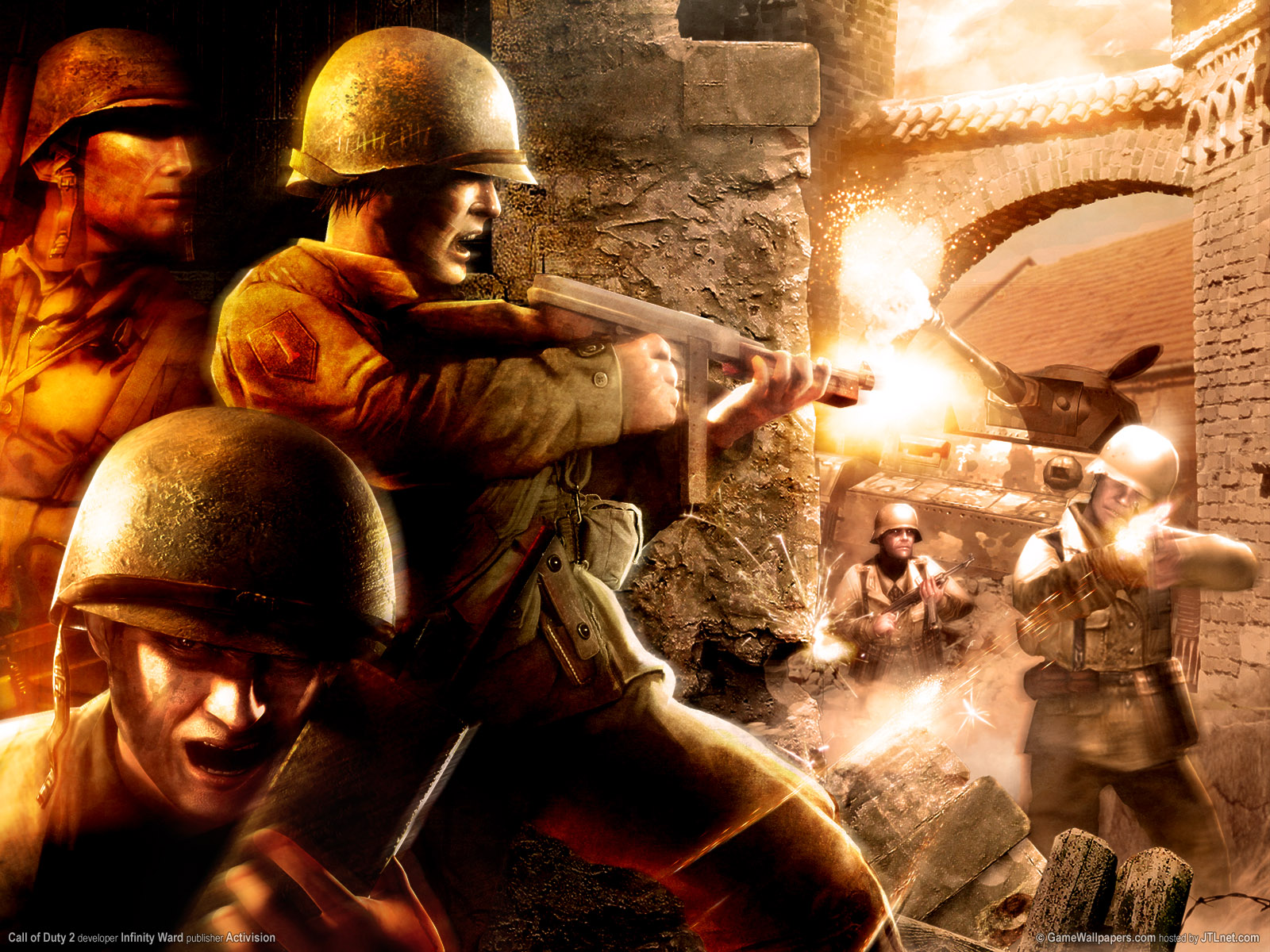 download Call of Duty 2 wallpapers Call of Duty 2 stock 1600x1200