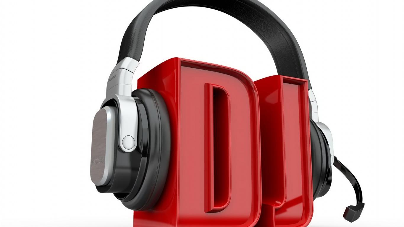 3D DJ Wallpapers   1366x768   154321 1366x768