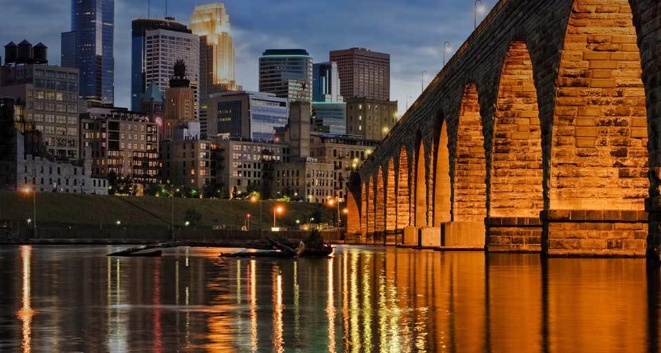 Bing Images Minneapolis Skyline And Stone Arch Bridge 958x512