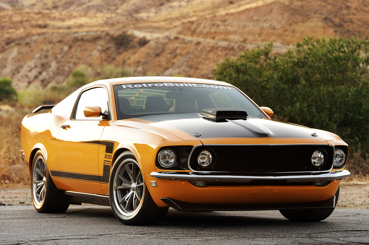 Retrobuilt 1969 Mustang Fastback First Drive Photo Gallery   Autoblog 1280x850