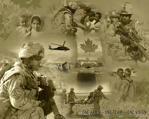 Wallpaper Canadian Army Flickr   Photo Sharing 500x400