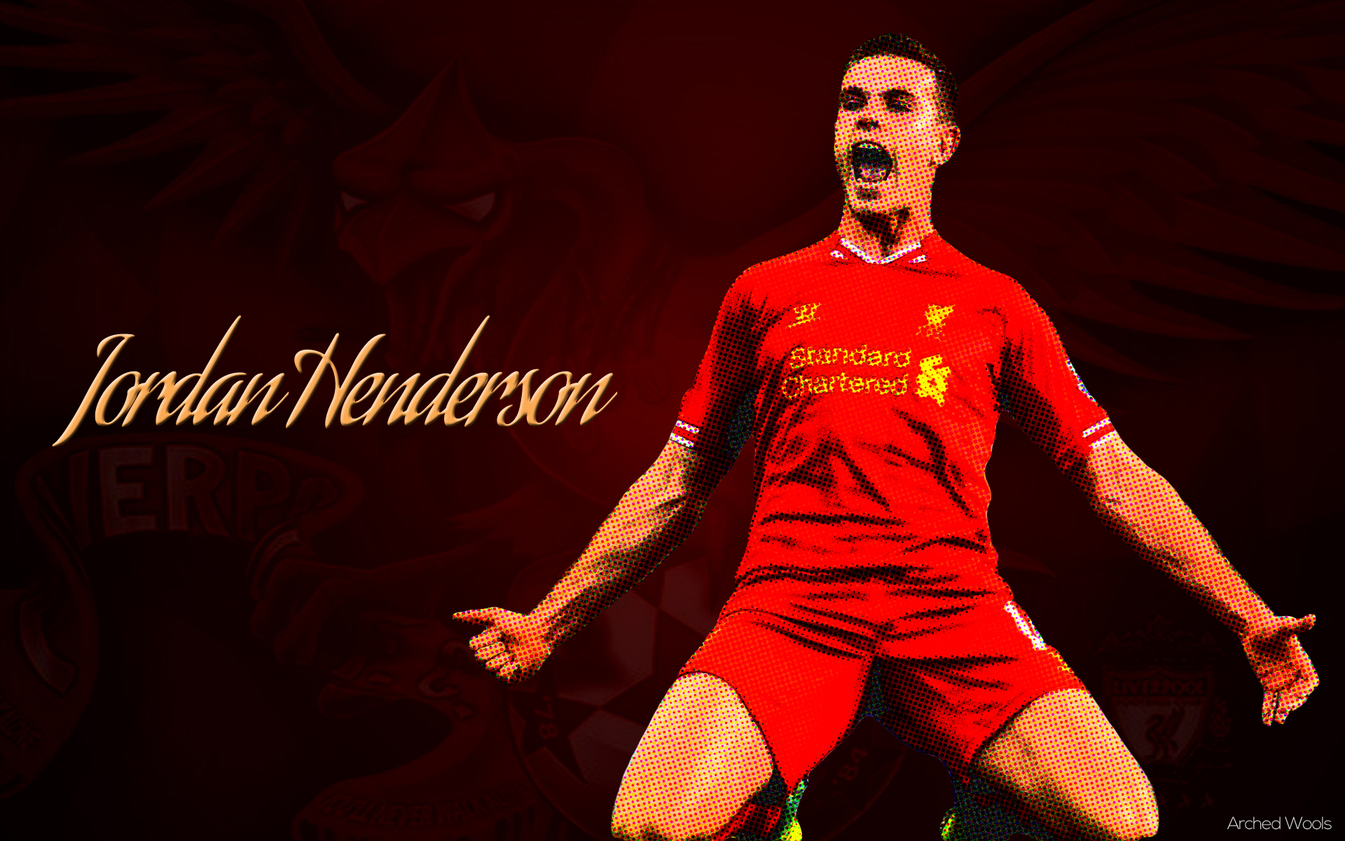 F-series Jordan Henderson Wallpaper HD | Unthought Conundrums