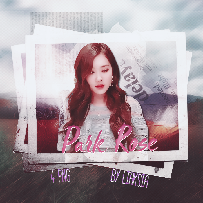 BLACKPINK Rose 4 PNG PACK 8 by liaksia by liaksia on 700x700
