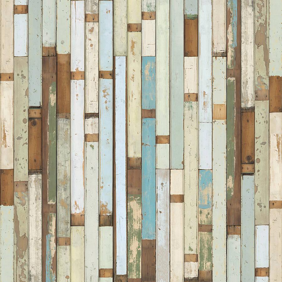 45 Rustic Wood Plank Wallpaper On