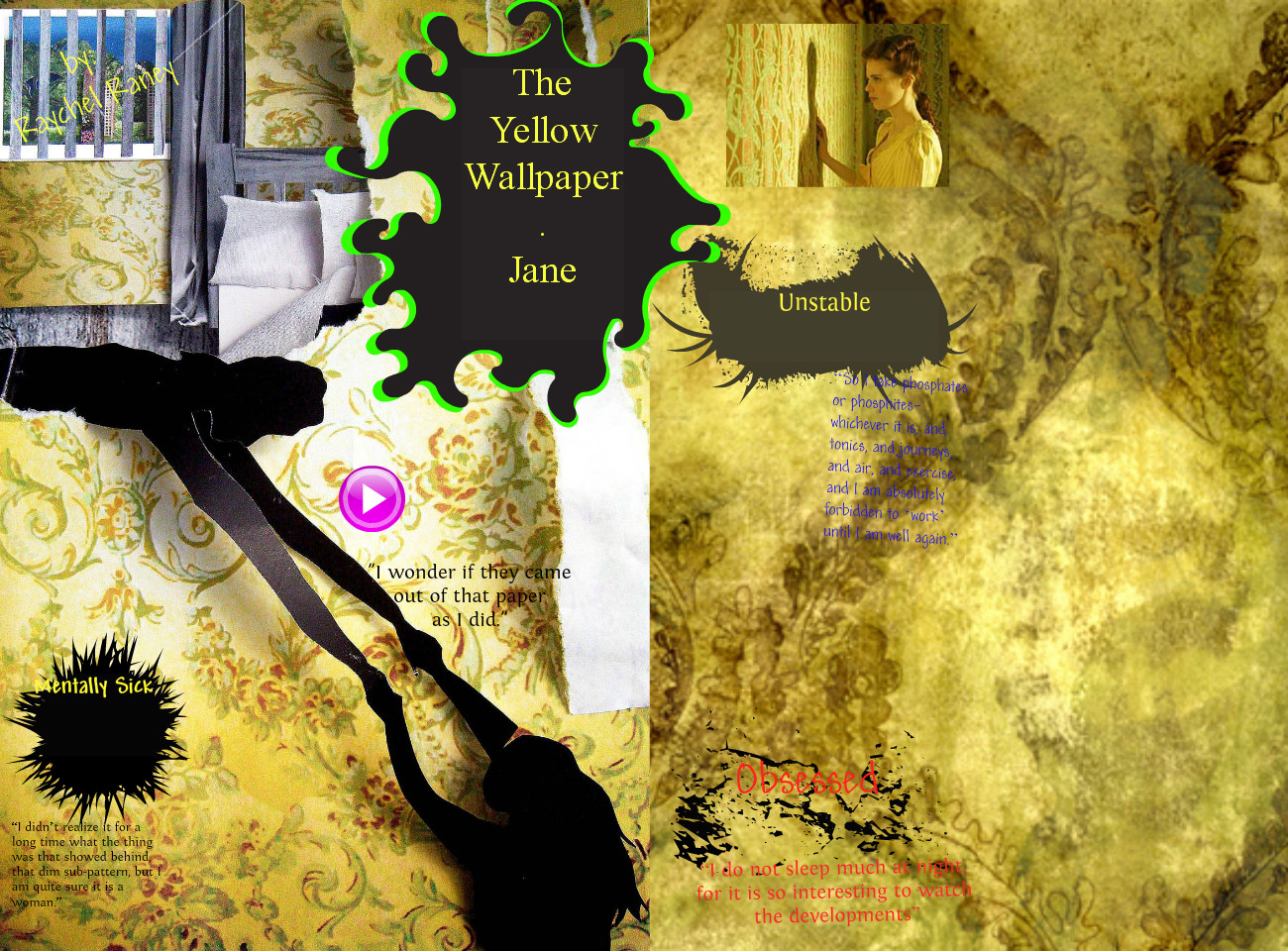 the yellow wallpaper sparknotes read the wallpaper genre epub 1300x960
