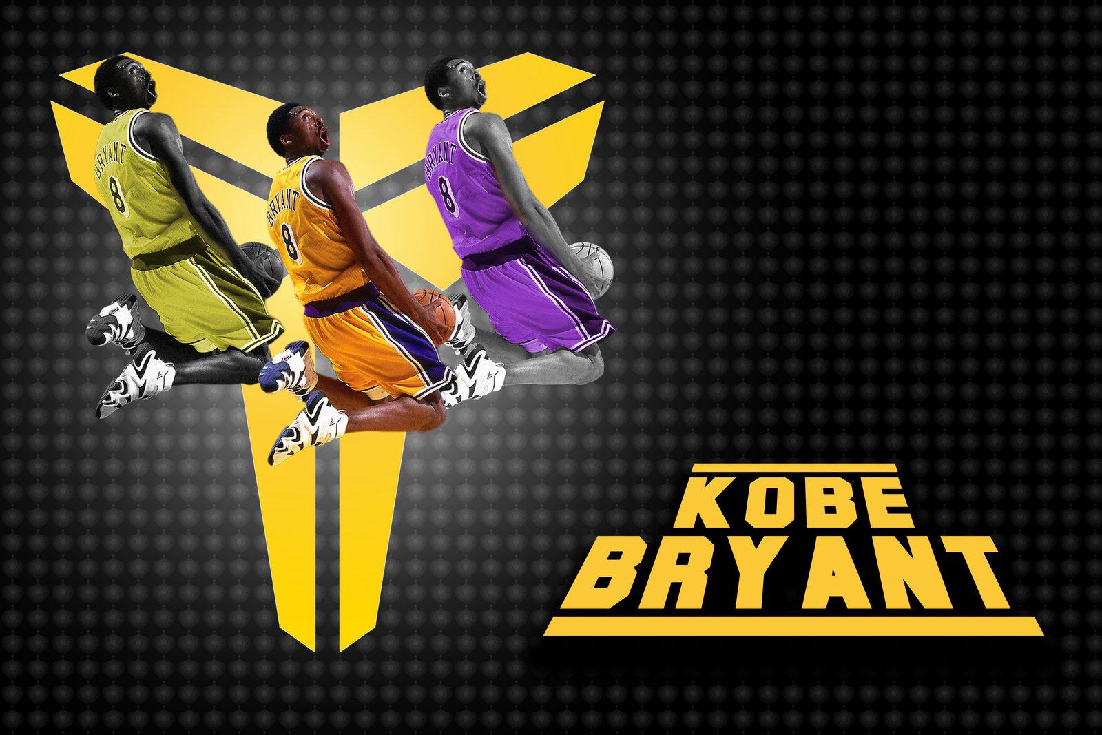 kobe bryant logo black 8 HD Wallpaper Basketball Wallpapers 1600x1067