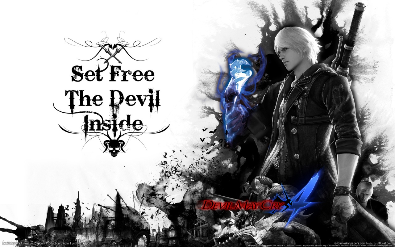 Manga And Anime Wallpapers Devil May Cry 4 HD Wallpaper 1280x800