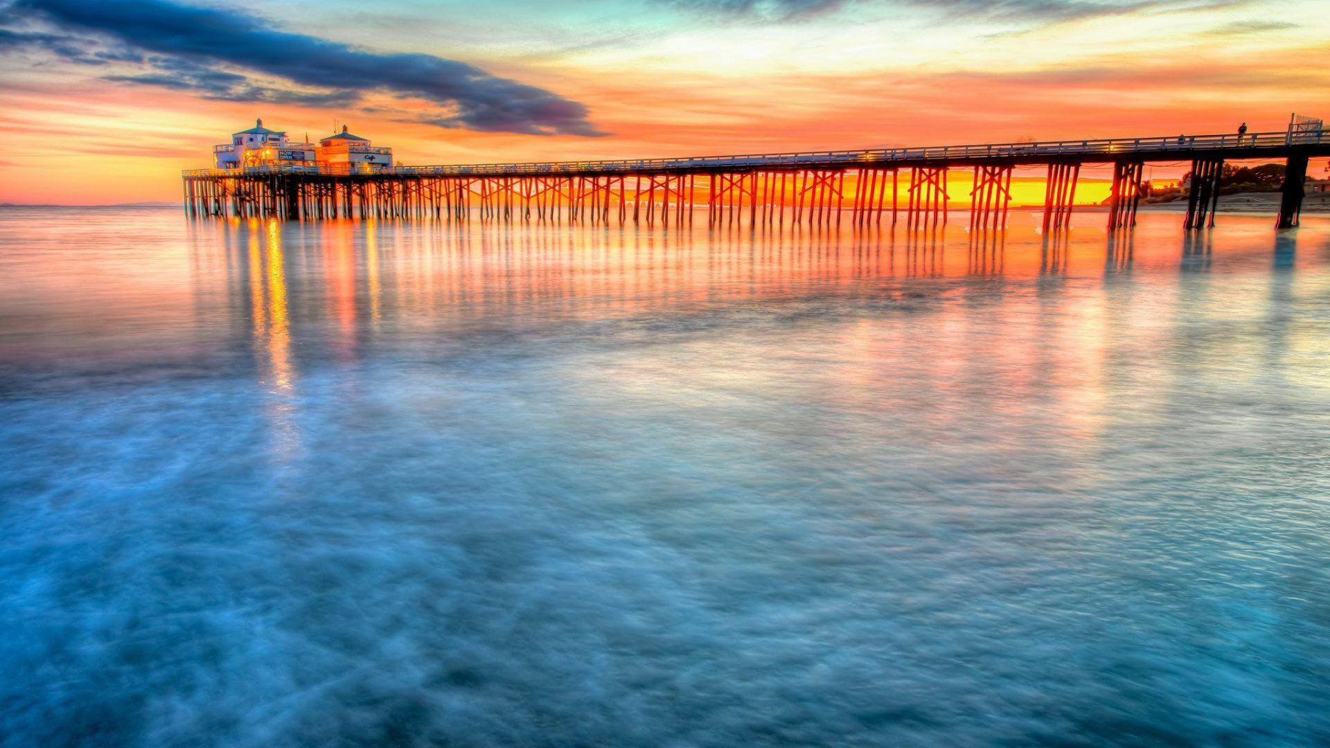 40 Hollywood Beach Sunset Wallpapers   Download at WallpaperBro 1920x1080