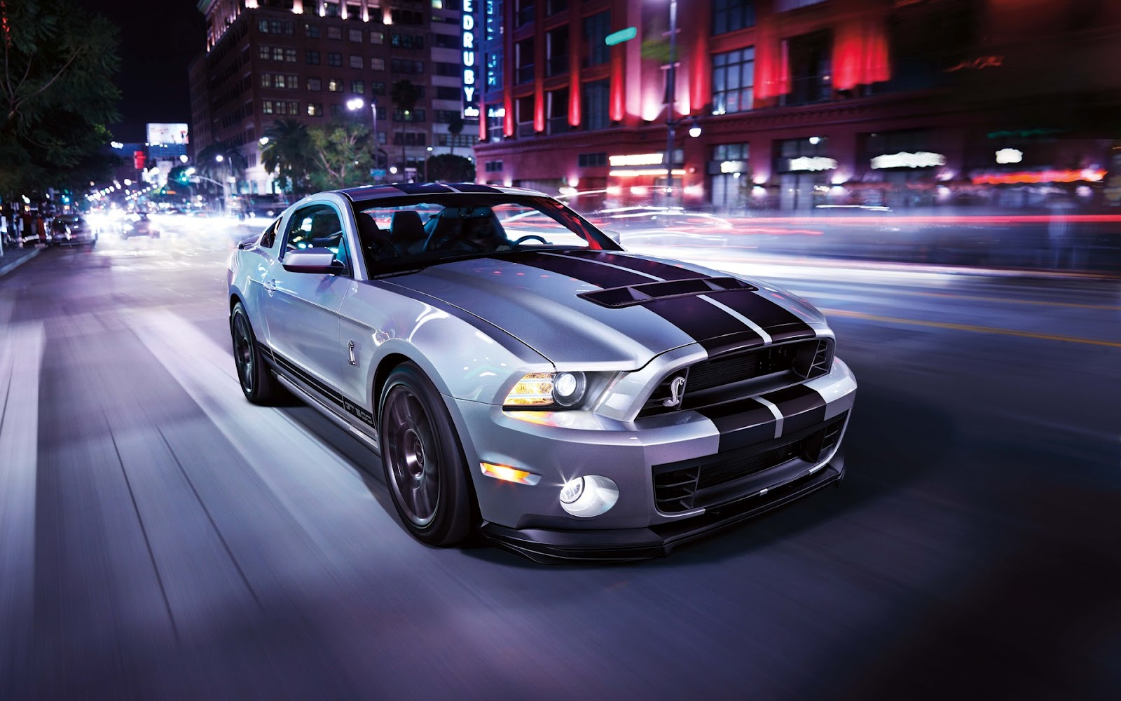 Ford Mustang GT500 Shelby   Fondos de Pantalla HD   Wallpapers HD 1600x1000
