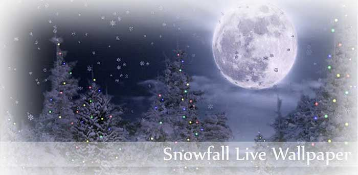 Download Snowfall Christmas Live Wallpaper for Android Get 700x343