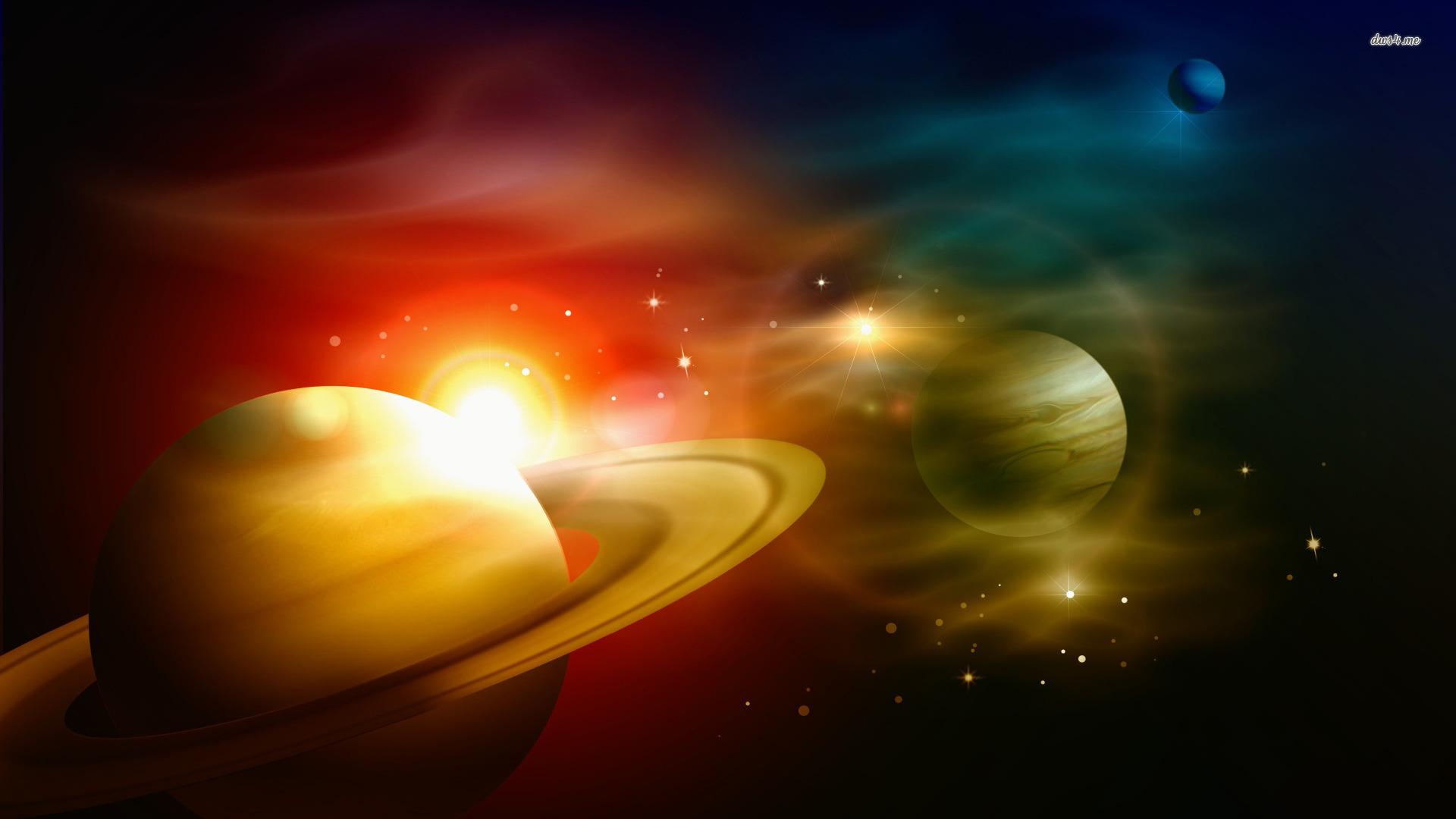 Planets wallpaper 1920x1080