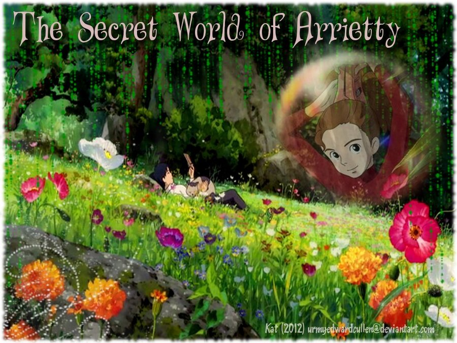The Secret World of Arrietty Wallpaper by urmyedwardcullen on 900x675