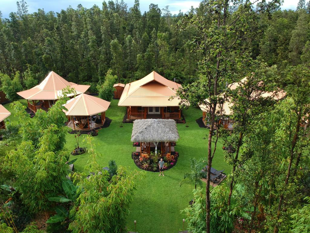 Bed and Breakfast Volcano Mountain Retreat Fern Acres HI 1024x768