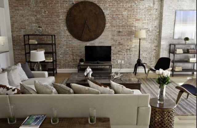 Faux Brick Wallpaper Bedroom Pinterest 640x418