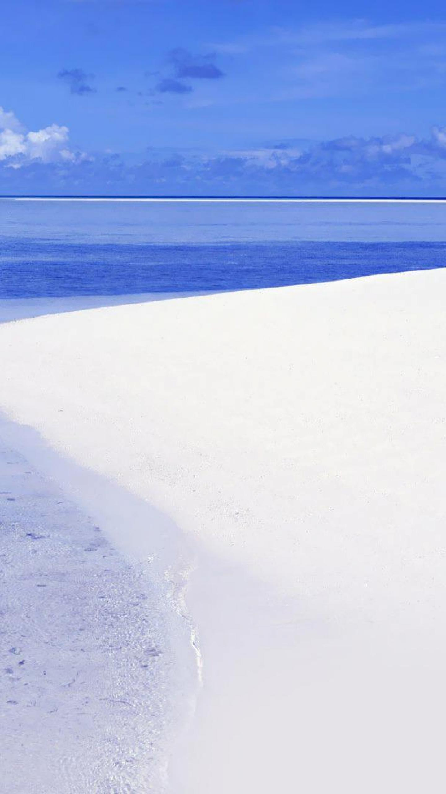 Free Download Beaches White Sandy Beach Sand Beach Sea Hd Wallpapers 1440x2560 For Your Desktop Mobile Tablet Explore 69 White Sand Beach Wallpaper White Sands Wallpaper Sandy Beach Wallpaper