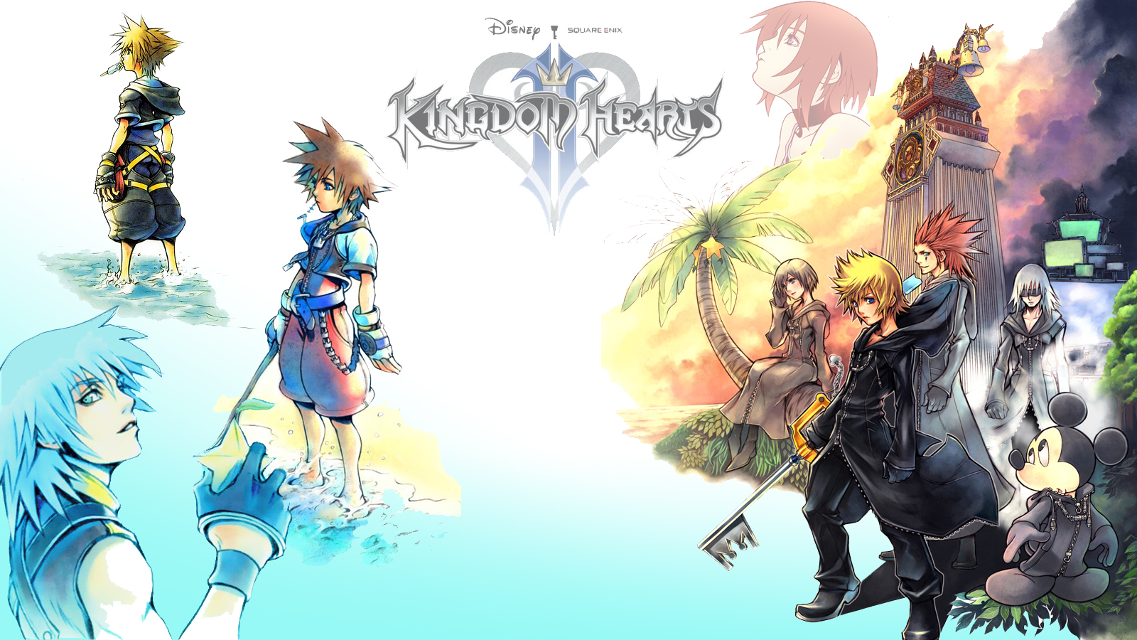 Kingdom Hearts Computer Wallpapers Desktop Backgrounds 1600x900