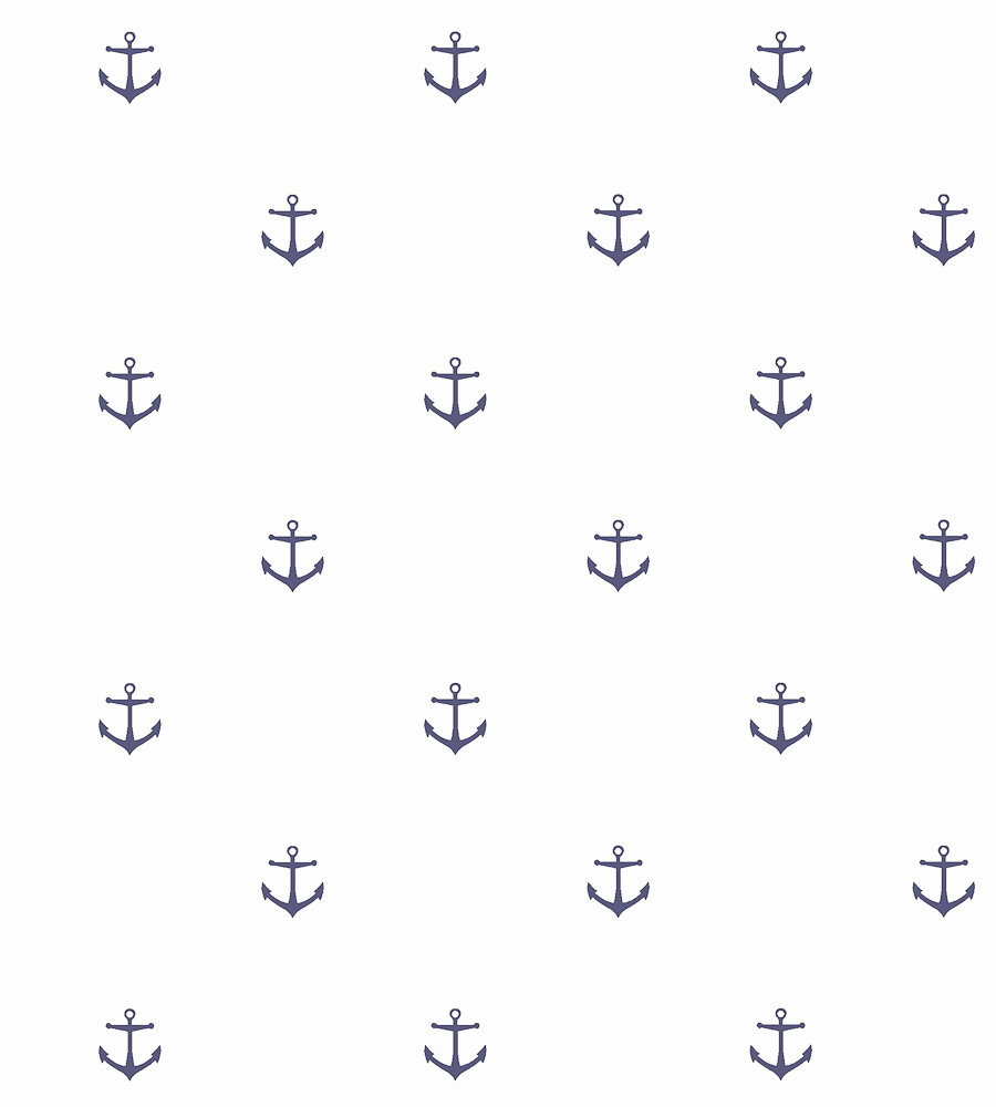 Anchor Wallpaper by Borastapeter Jane Clayton 900x1000