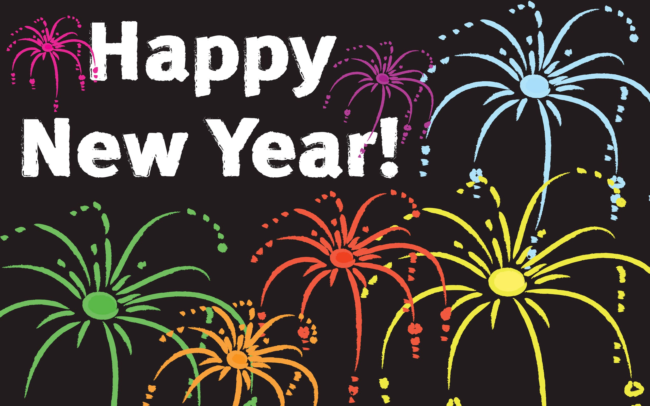 download download happy new year wallpaper which is under the new year 2560x1600