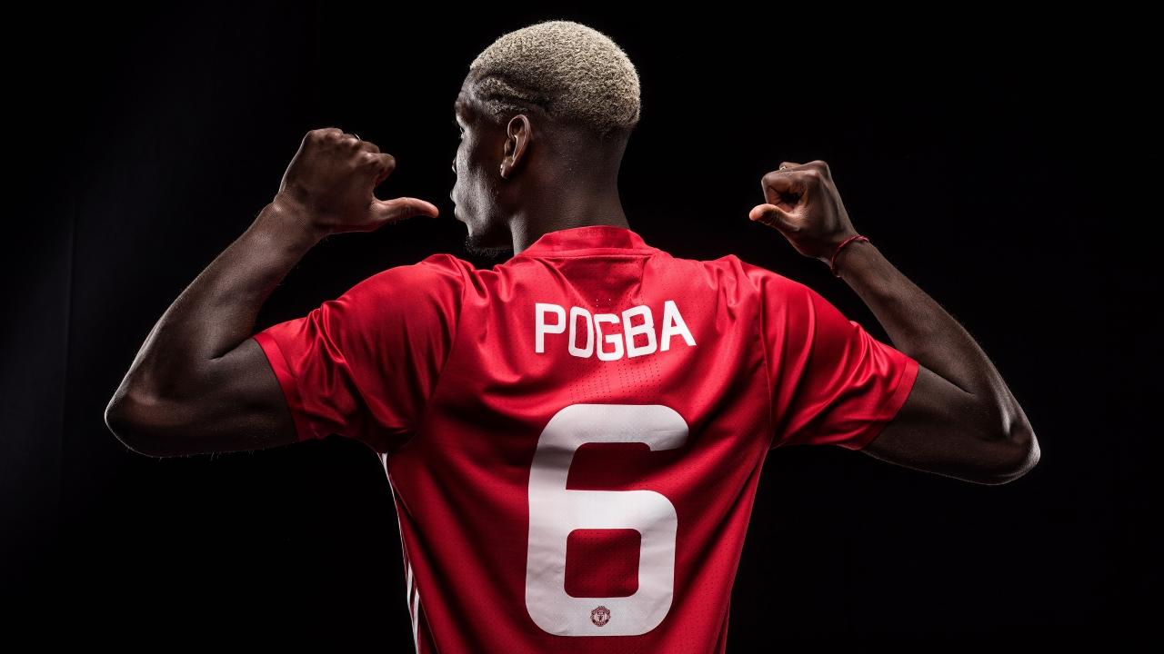 Paul Pogba Manchester United Wallpaper Ides dimages la joueur 1280x720