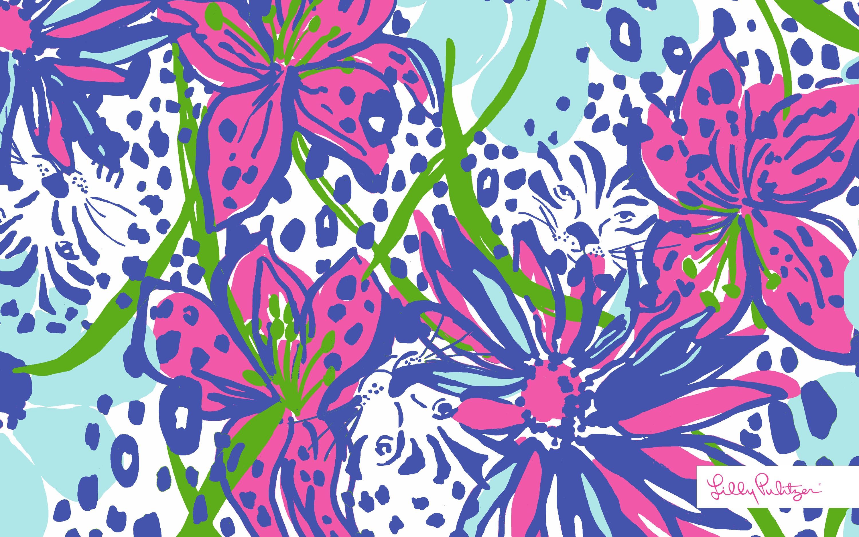 lilly pulitzer wallpaper desktop wallpapersafari