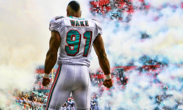 Cameron Wake will represent Dolphins at the Pro Bowl   Phins Phocus 593x356