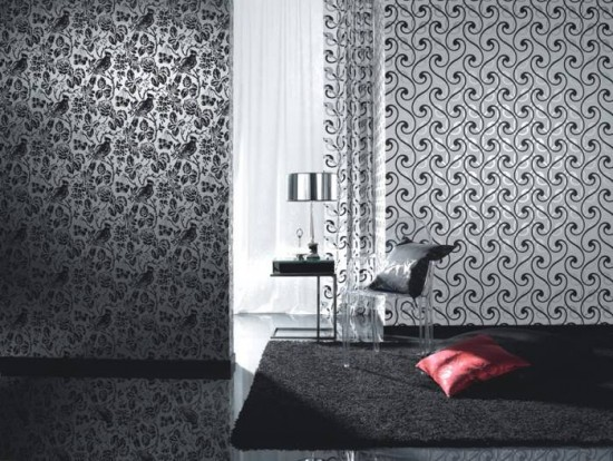 Types of wallpaper 550x414