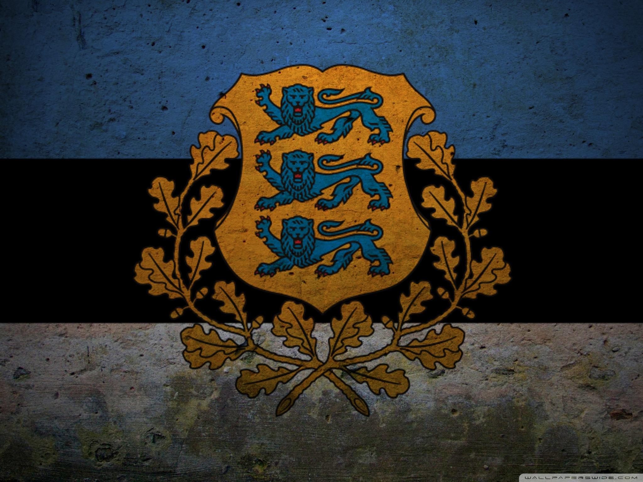 Presidential Flag Of Estonia 4K HD Desktop Wallpaper for 4K 2048x1536