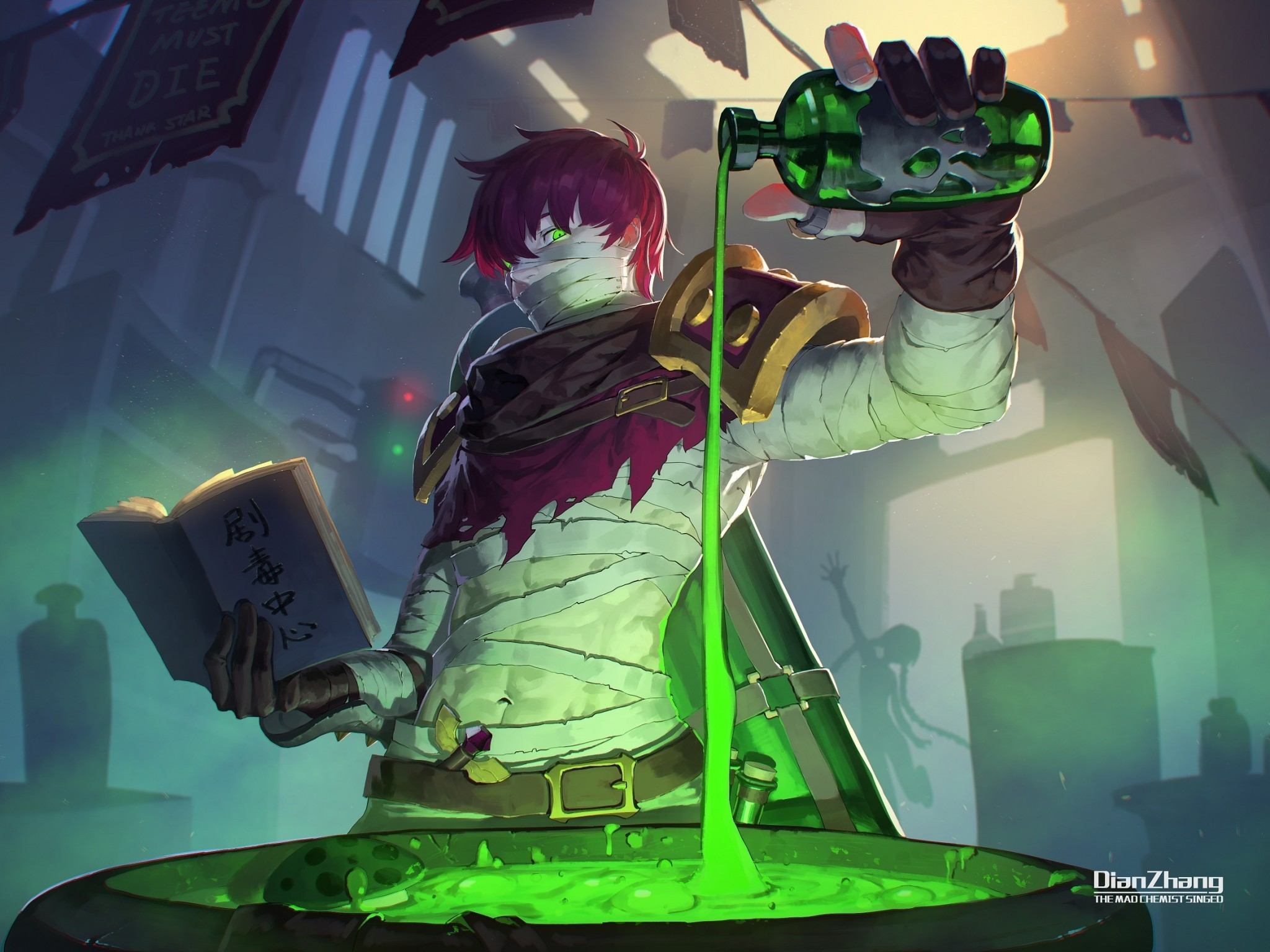 Download 2048x1536 League Of Legends Magic Poison Bandages 2048x1536