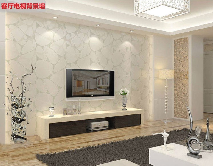 Simple Wallpaper Designs For Walls On Decor With Modern 746x583