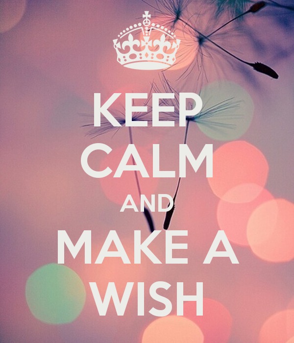 KEEP CALM AND MAKE A WISH   KEEP CALM AND CARRY ON Image Generator 600x700