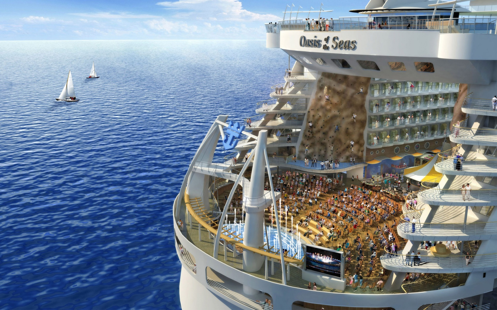 Oasis of the seas Royal Caribbean Wallpapers HD Wallpapers 1680x1050