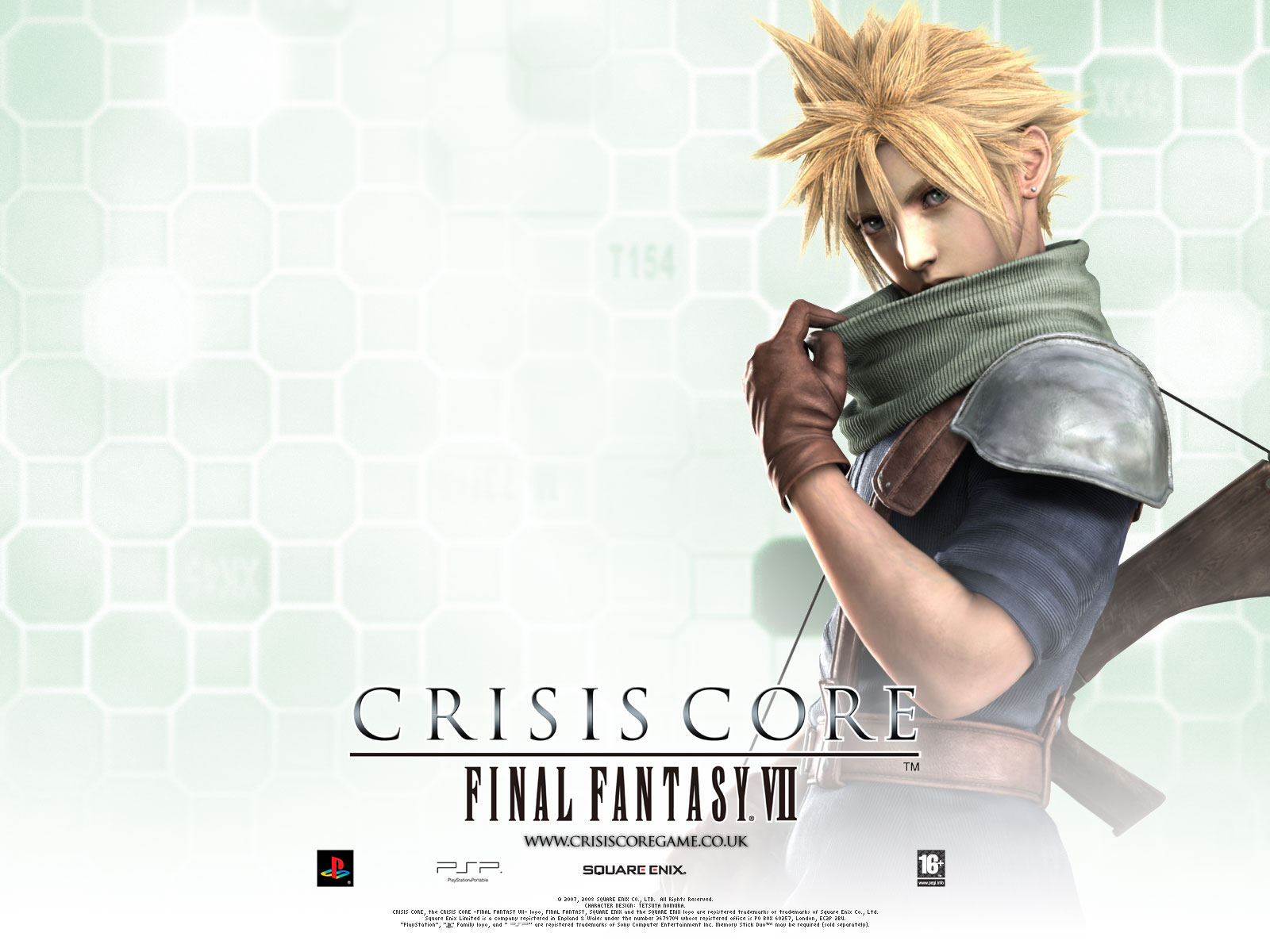 Cloud Strife   Crisis Core Final Fantasy VII 1600x1200