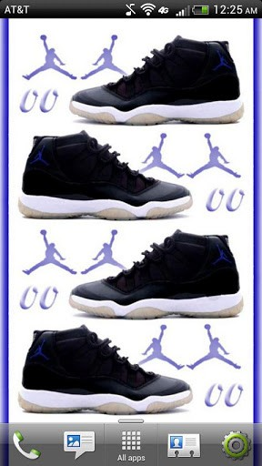 Jordan Retro XI Live Wallpaper App for Android 288x512