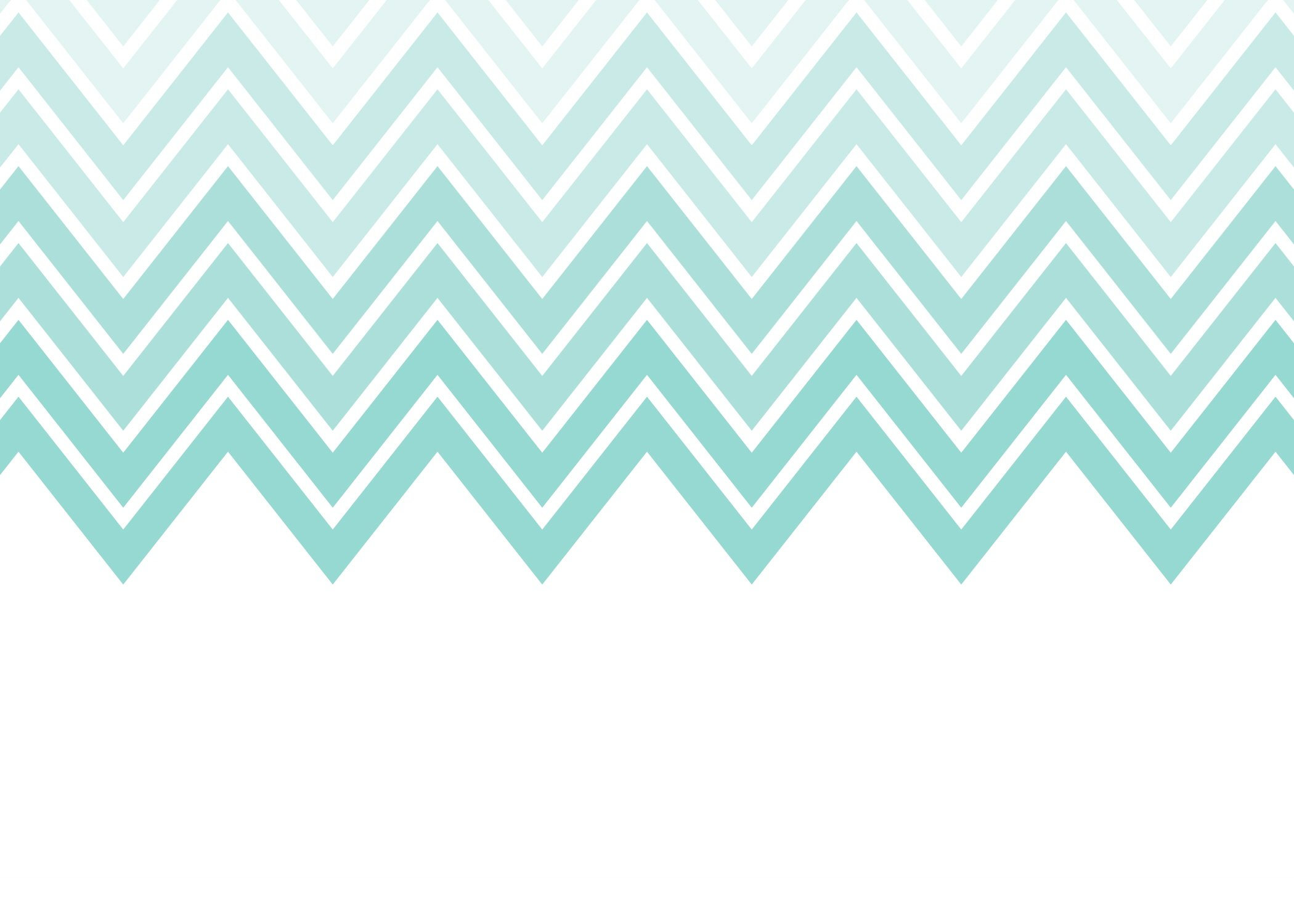Aqua and gray chevron wallpaper wallpapersafari for Teal chevron wallpaper